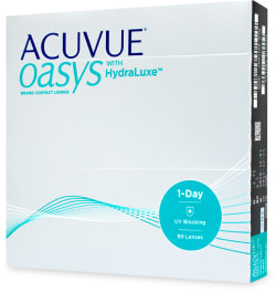 Acuvue Oasys 1-Day with Hydraluxe UV linser