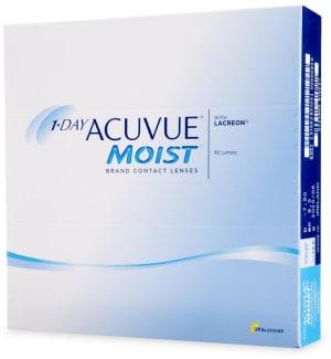 1-Day Acuvue Moist Johnson & Johnson kontaktlinser
