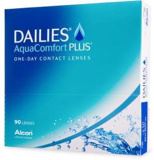 Dailies AquaComfort Plus endagslinser