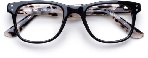 Masterpiece-Black Milky Tortoise fotokromatiske briller fra The Collection