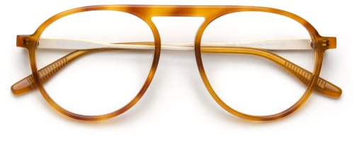 The Collection Him & I - Tortoise Gold briller