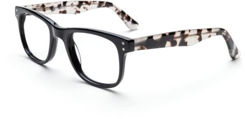 Masterpiece-Black Milky Tortoise glasögon från The Collection