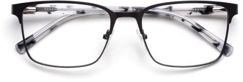 Diskreta bågar i svart som är rätt för glasögonmodet 2020
