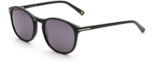 Svarte trendy solbriller