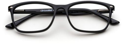 sorte briller
