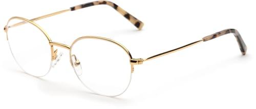 Glasögon runda bågar