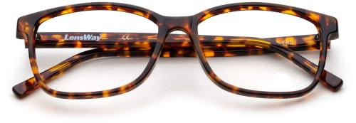 Tortoise-fargede briller