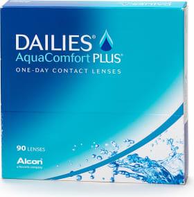 Dailies AquaComfort Plus kertakäyttölinssit