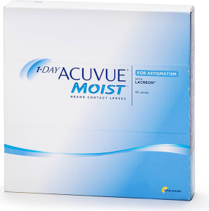 1-Day Acuvue Moist for Astigmatism piilolinssit