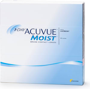 1-Day Acuvue Moist linser til barn