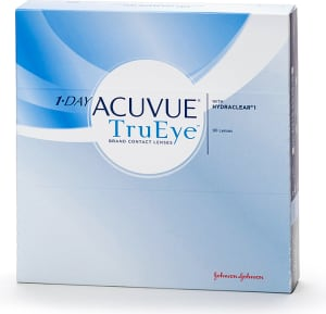 1-Day Acuvue TruEye kontaktlinser