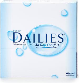 Focus Dailies linser för närsynthet