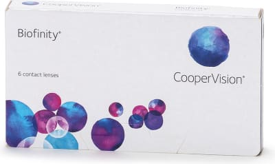Biofinity CooperVision linser