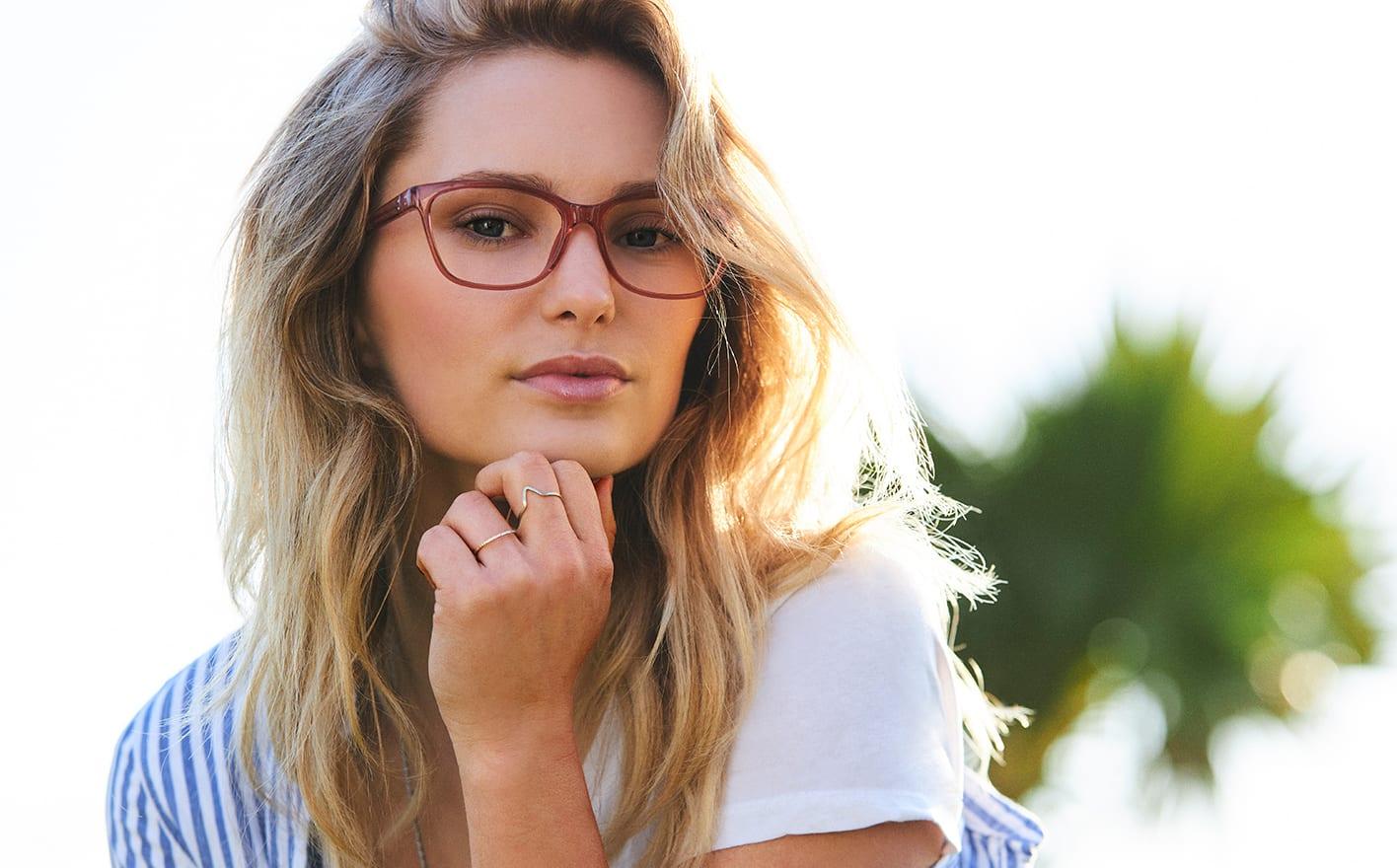 Cat-eye glasögon