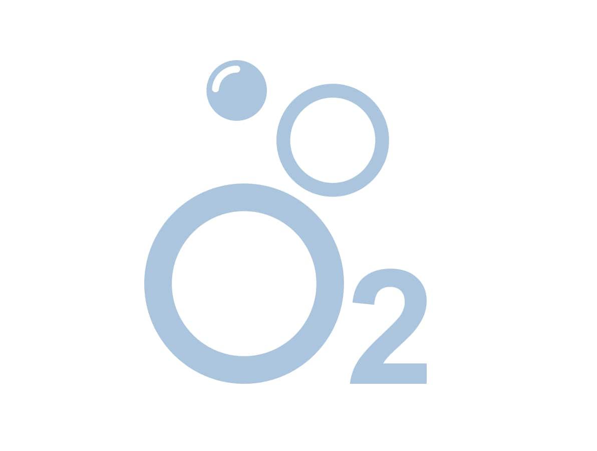 Økt gjennomstrømning av oksygen