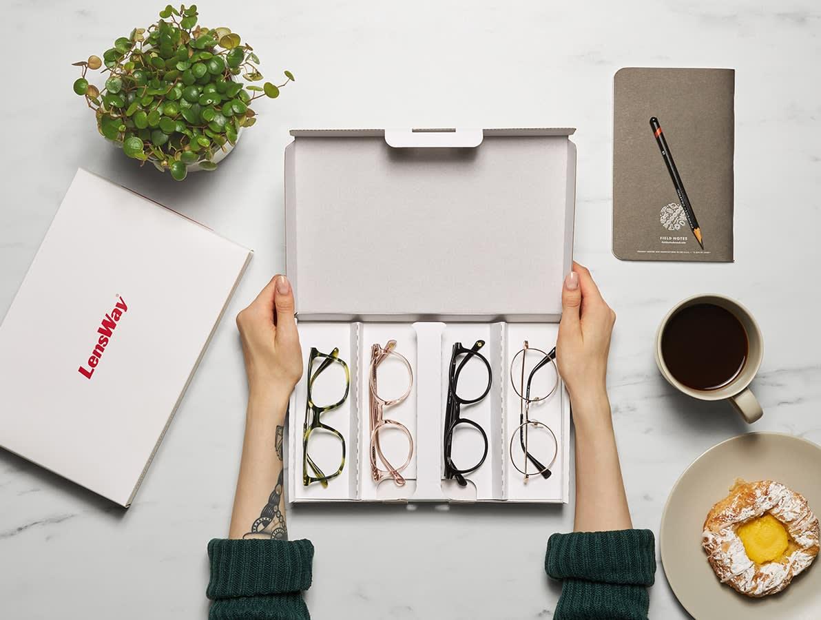 Prova glasögon hemma innan du köper