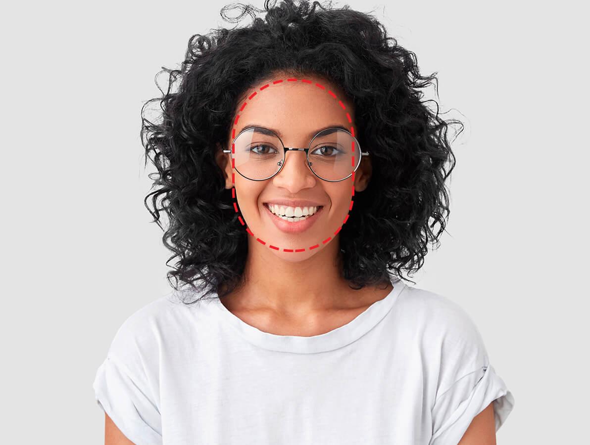 Triangelformede og avlange ansikter