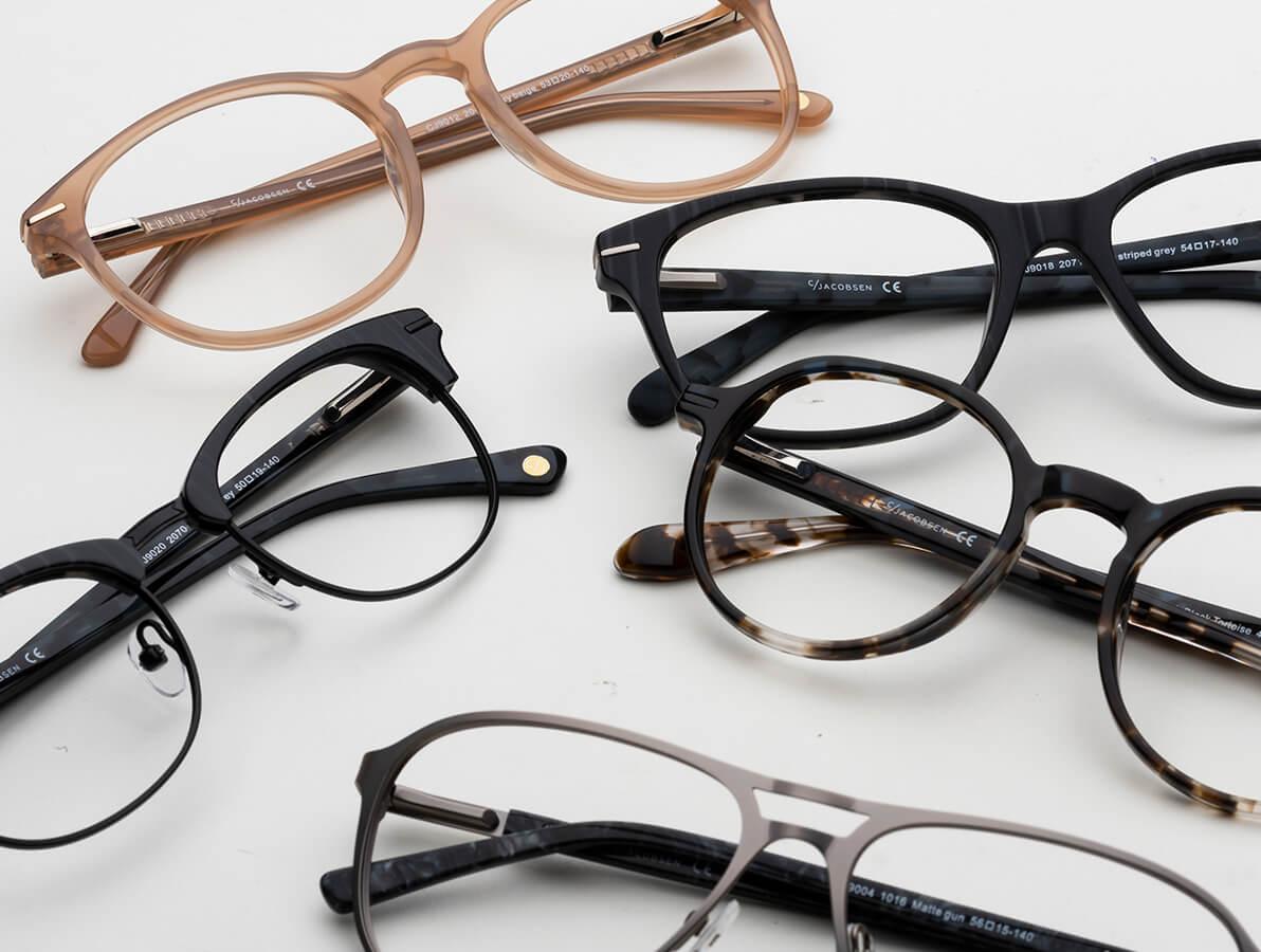 Tänk på glasögonens passform