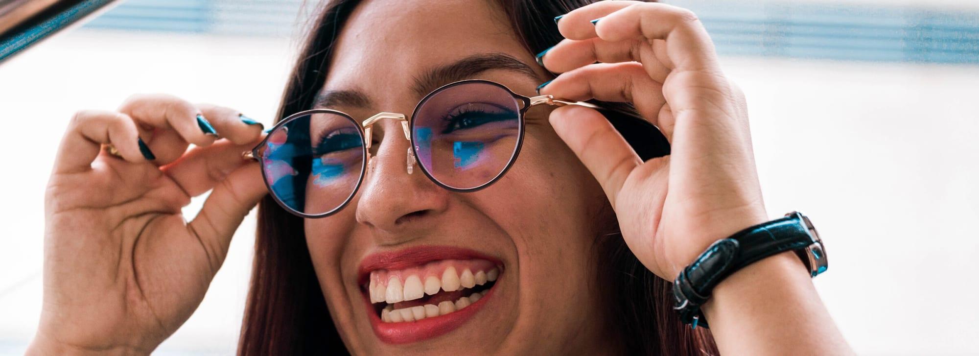 Välj glasögon efter ansiktsform